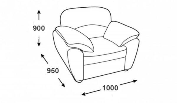 схема кресло флоренция